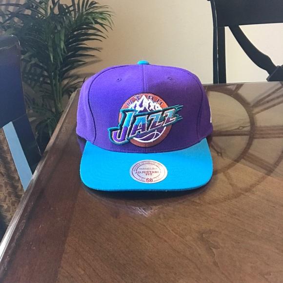 premium selection 9087e 85c90 NBA hat Utah Jazz